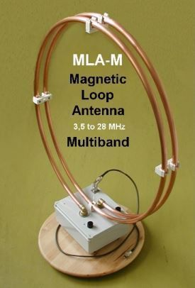 AIR - RADIORAMA: MLA-M Magnetic Loop Antenna – Multiband 3,5 a 28 MHz QRP
