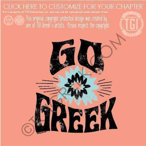 Panhellenic Sorority Tshirt Design By Tgi Greek Perfect For