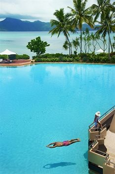 Hayman Island is the most northerly of the Whitsunday Islands, which are located off the coast of Central Queensland, Australia.   Hayman is a private island open to the public, most famous for its luxury resort/