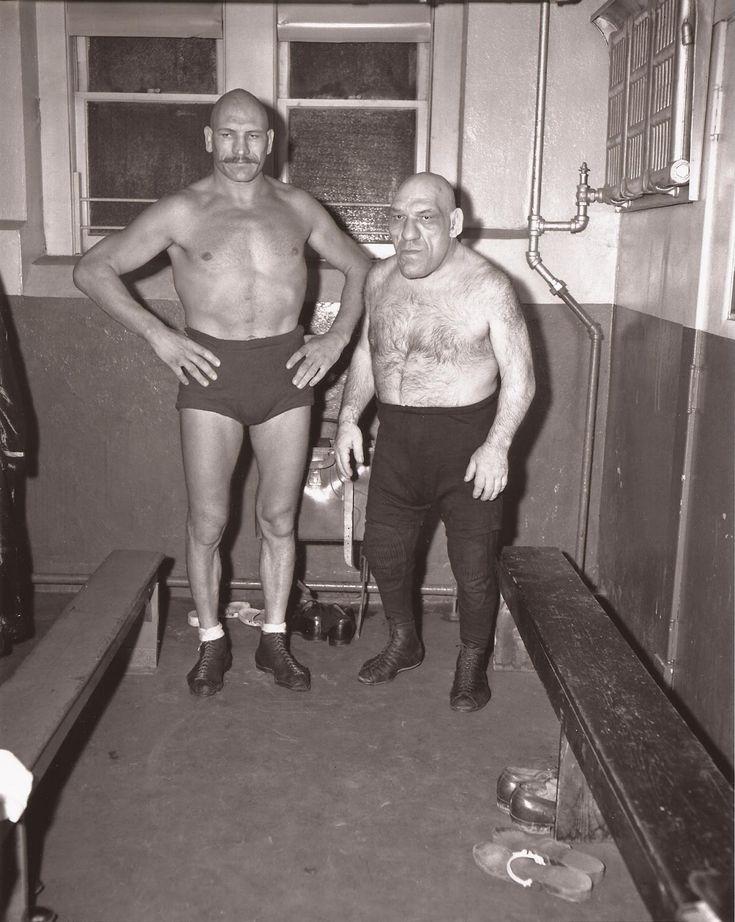 The French Angel Wrestler, Maurice Tillet