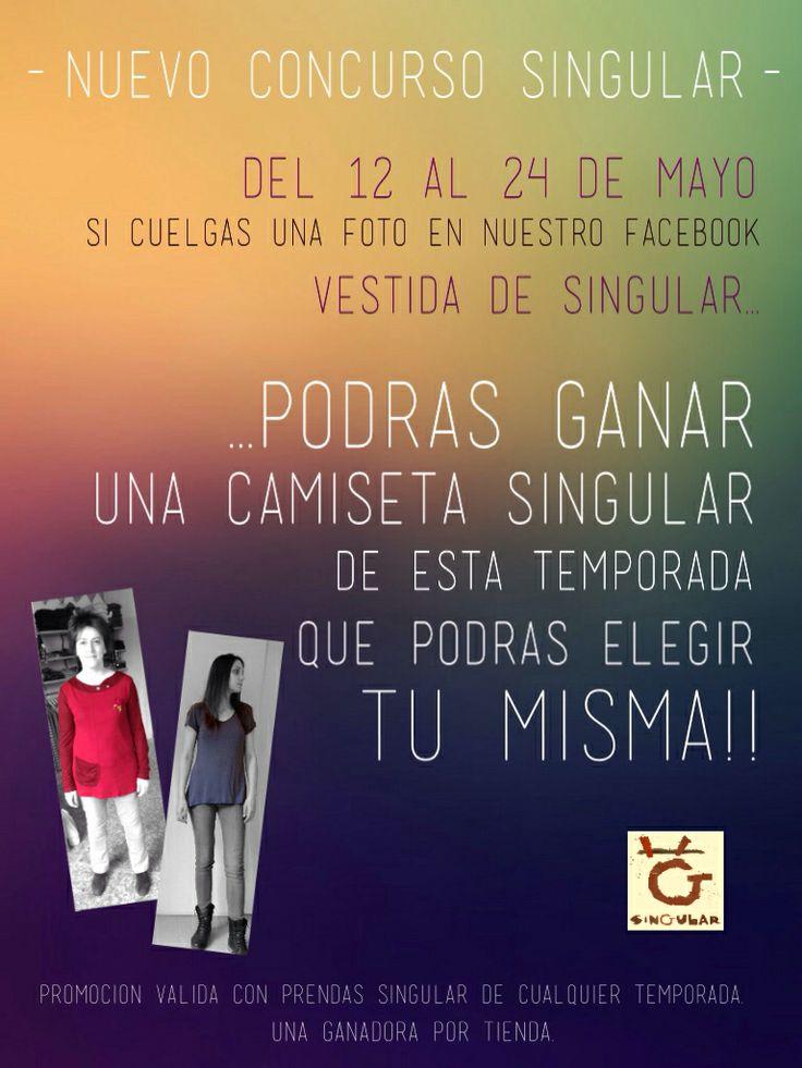 Nuevo concurso Singular ! Gana una camiseta Singular !