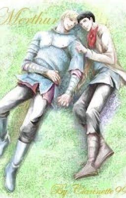 #wattpad #fanfiction Depuis quelques mois,  Merlin éprouve de curieux sentiment pour Arthur. Des sentiments aussi profonds qu'interdits. Merlin a toujours tenté de les ignorer, mais, lorsque Gaïus tombe malade et que Merlin apprend qu'on ne peut plus le sauver, il désespère. C'est alors qu'Arthur tente de le consoler...