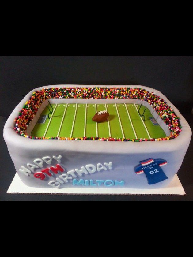 Football stadium cake                                                                                                                                                                                 More