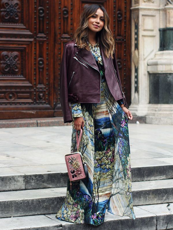 julie-sarinana-street-style-inverno-jaqueta-couro-maxi-vestido
