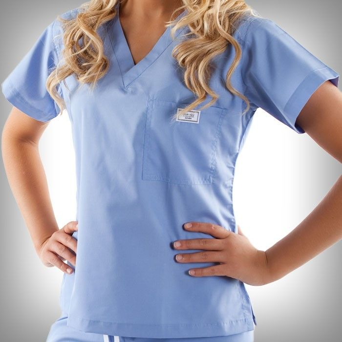 Ceil Blue Simple Scrub Tops Sky Wardrobes And The O Jays