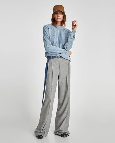 PALAZZO TROUSERS-NEW IN-WOMAN | ZARA United States