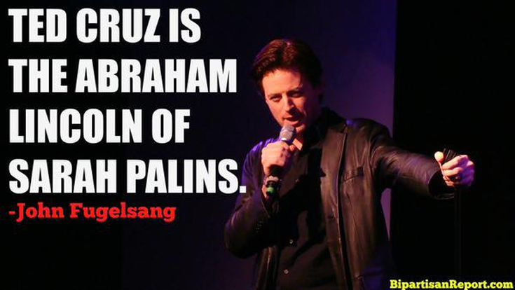 Funniest Ted Cruz Memes: Ted Cruz: The Abraham Lincoln of Sarah Palins