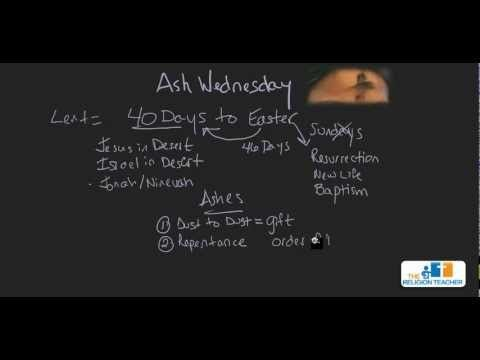 Ash Wednesday Video
