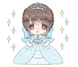 Milk-chan sticker with a Fairy tale