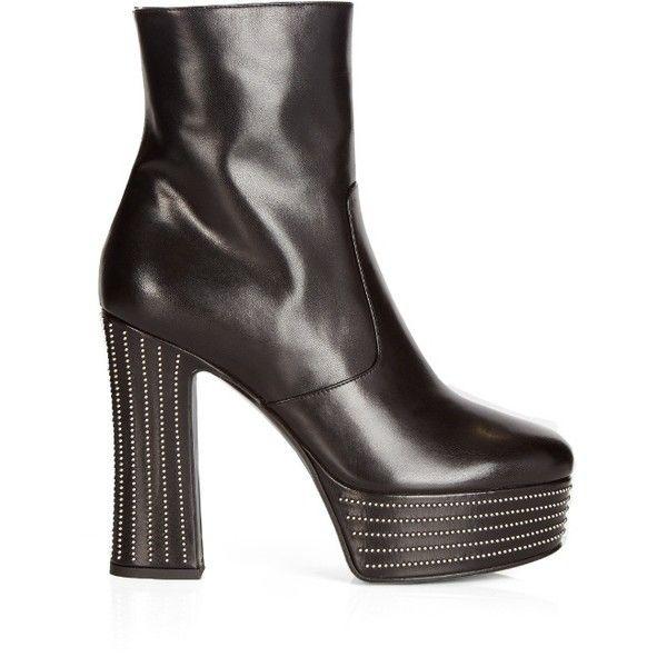 1000  ideas about Platform Ankle Boots on Pinterest | Black heels