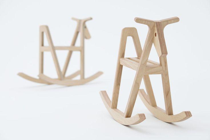 Drill Design: paper-wood rocking horse