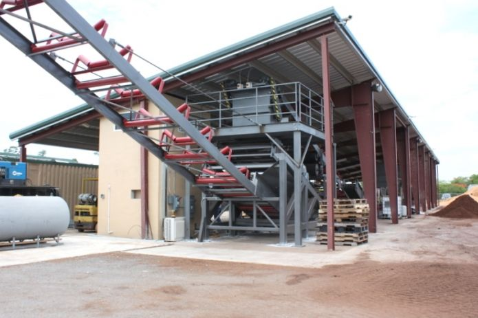 17 best images about agricultural steel metal buildings on for Building on a slope cost