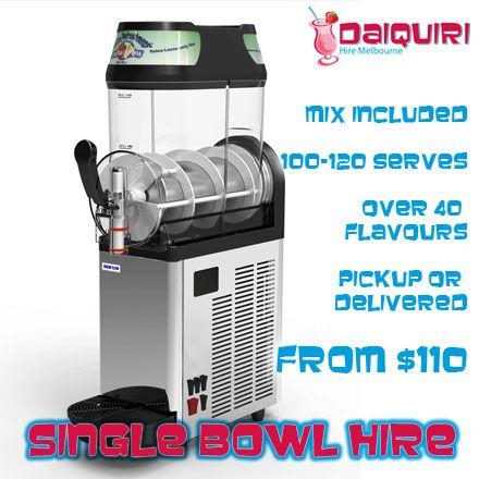 Single Bowl Daiquiri Machine Hire