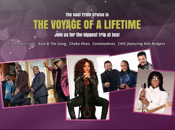 Soul Train Cruise Come join us!  Iris Augustine