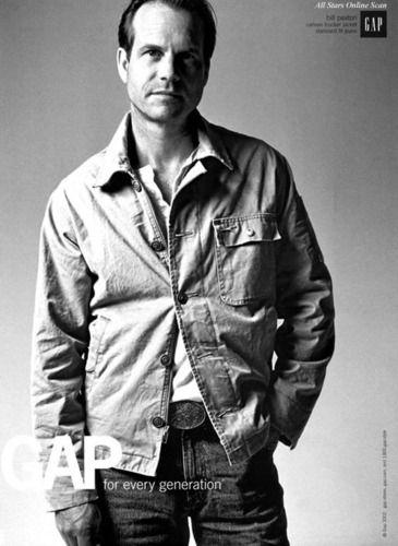 Bill Paxton - gap Photo- age 58