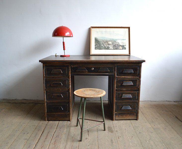Lingel pedestal desk  artKRAFT - Furniture&Design