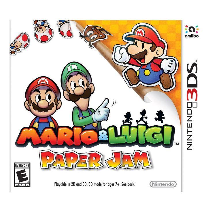 Mario & Luigi: Paper Jam for Nintendo 3DS, Multicolor