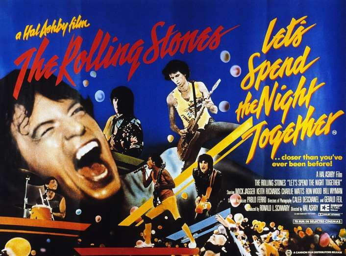 """FEBRUARY 11,  1983: The Rolling Stones concert footage is released in New York in the film """"Let's Spend the Night Together,"""" directed by Hal Ashby."""