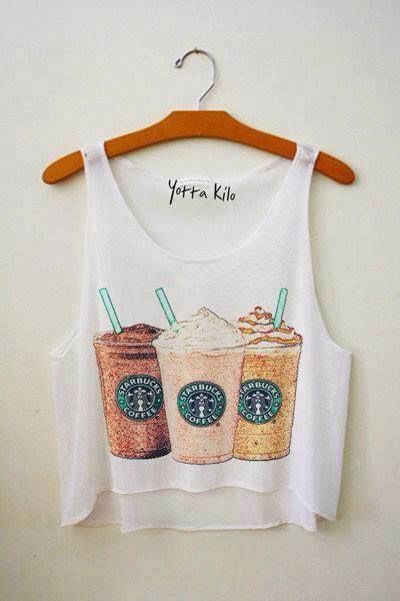 #freshtops starbucks fresh top ;amazing, ahhhhh starbucks, love, coffee, style, friends, fashion, starbucks