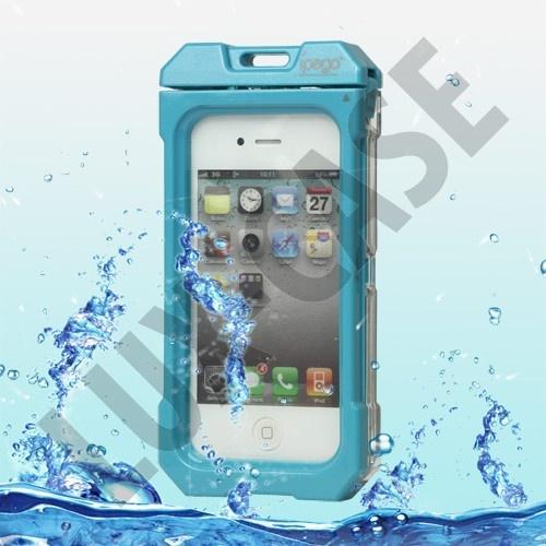 iSports Vandtæt iPhone 4/4S Cover (Blå)