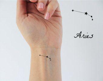 Znalezione obrazy dla zapytania aries constellation tattoo