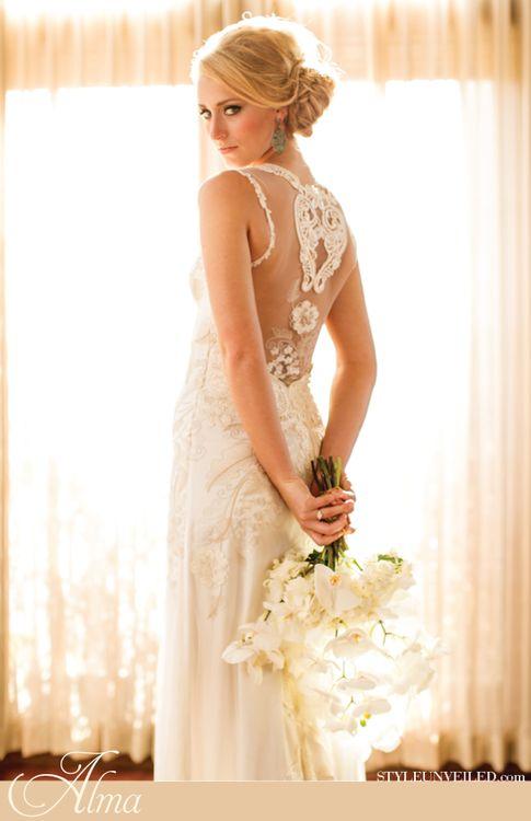 Claire pettibone alma dress