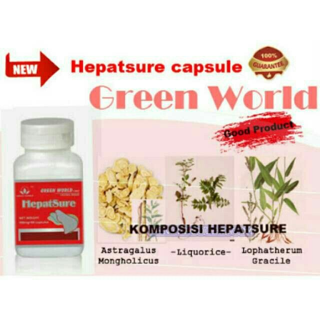 Saya menjual Green World HepatSure Capsule / Hepatsure Green World seharga Rp362.000. Ayo beli di Shopee! https://shopee.co.id//77638170/