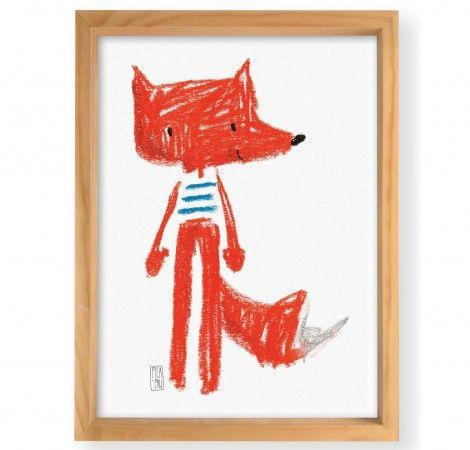 Lucas Fox Wall Art - Monoblock