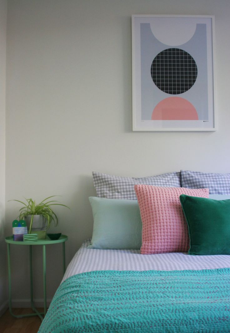 #homestyling by #placesandgraces #bedroomstyling #artprint by#duettdesign from @endemicworld