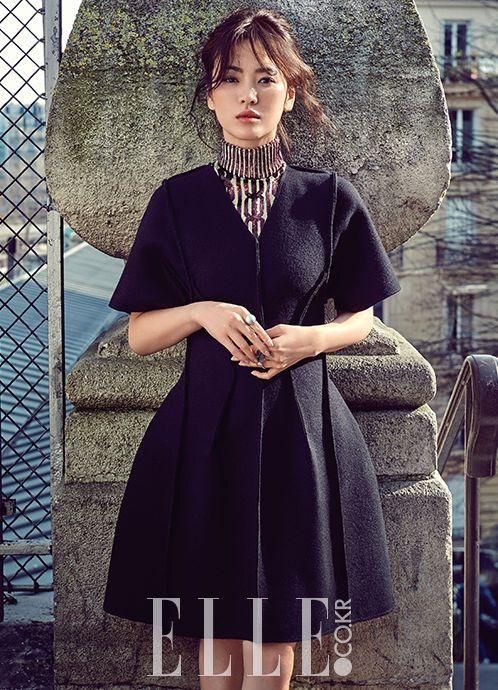 Korean Actress Song Hye Kyo Dior Pre Fall Elle Magazine June 2015 Photoshoot Fashion Gorgeous