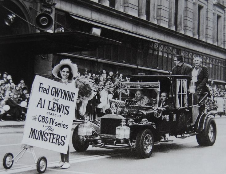 The Munsters Koach drives in the Macy's Thanksgiving Day Parade