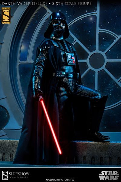 Sideshow Collectibles - Darth Vader Deluxe Sixth Scale Figure  Totally Pre-Ordered this bad ass!!!