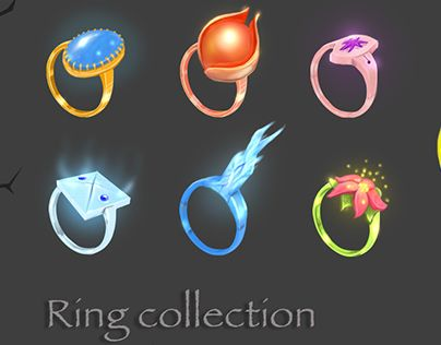 "Check out new work on my @Behance portfolio: ""Ring collection"" http://be.net/gallery/37706553/Ring-collection"