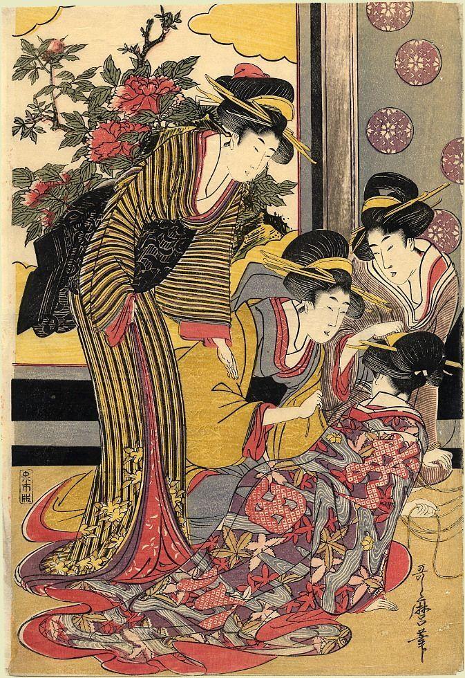 japanese print art - 673×980