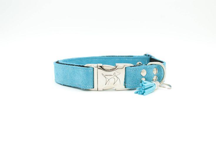Quiero compartir lo último que he añadido a mi tienda de #etsy: EVEN azul #mascotas #accesoriosperro #collarperro #correaperro #perro #gato #animales #azul #accesorios