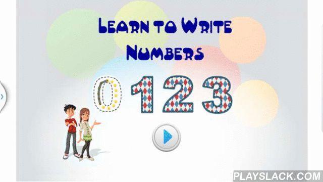 Learn To Trace Numbers - 123  Android App - playslack.com ,  Help your child master writing and tracing numbers!Main Features ☆Practice tracing numbers from 0 to 9. ☆Start from the red dot and join the dots over the number. ☆Sounds and visual lines help to guide the writing. ☆Numbers are read aloud. Help uw kind meester schrijven en tracing nummers!Hoofdlijnen ☆ Praktijk tracing nummers 0-9. ☆ Begin met de rode stip en lid van de stippen op het nummer. ☆ Geluiden en visuele lijnen helpen om…
