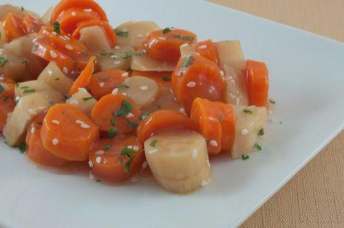 Maple Glaze Vegetables (Vegan)