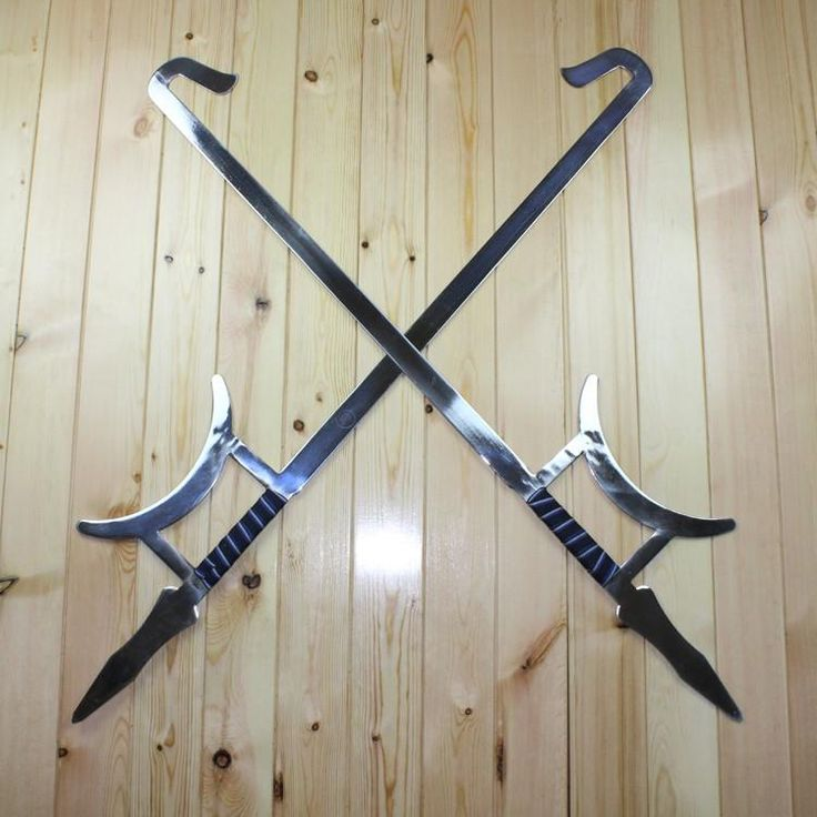 Tiger head hooks pair/Stainless steel – Chinese sword shop