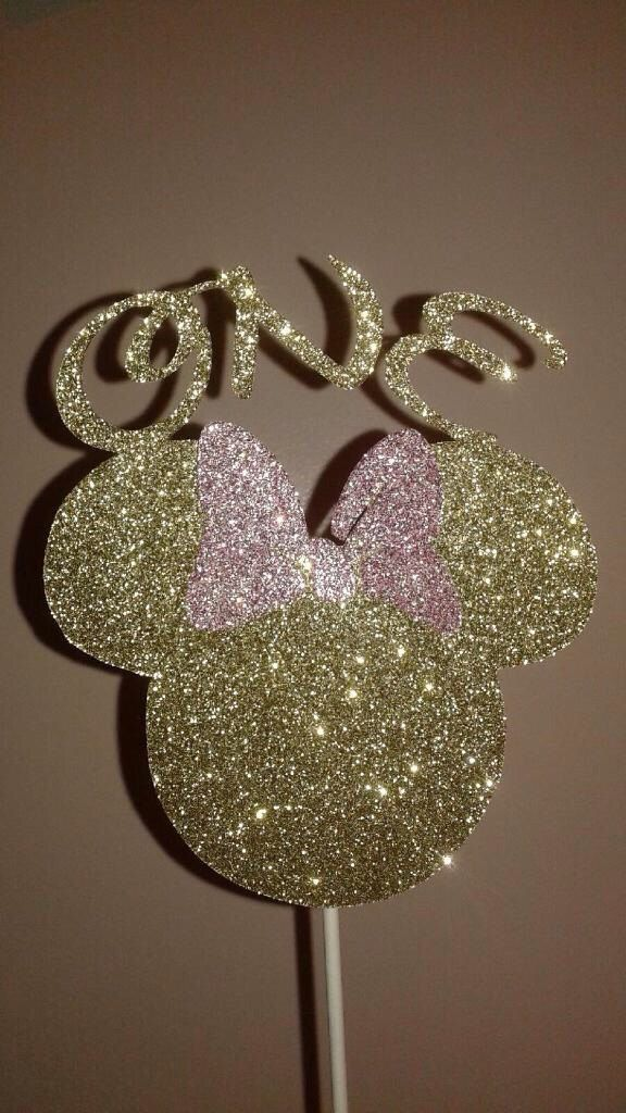 Minnie Mouse Cake Topper, Mickey Mouse Cake Topper, Minnie Mouse Age Cake Topper, Mickey Mouse Age Cake Topper, One Cake Topper by PartiesThatArePretty on Etsy https://www.etsy.com/listing/256100514/minnie-mouse-cake-topper-mickey-mouse