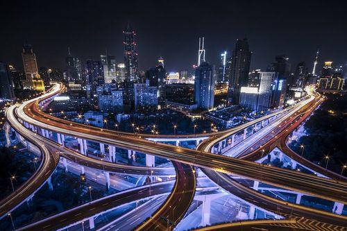 Shanghai long exposure shot