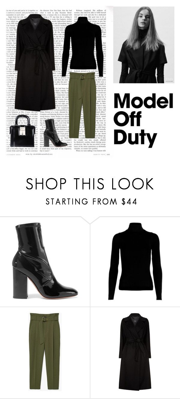 """""""Model off duty"""" by dorey on Polyvore featuring Valentino, MANGO, Weekend Max Mara and Dsquared2"""