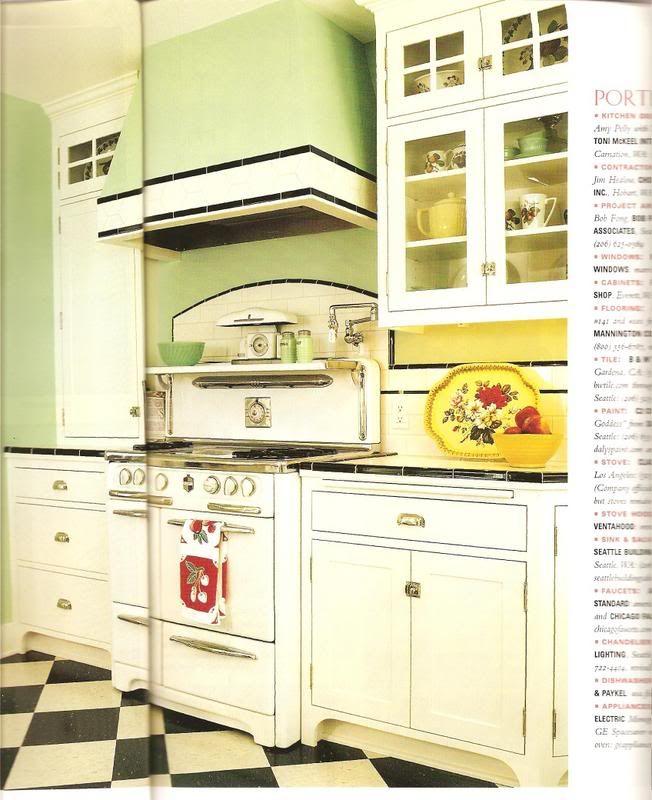 98 Best Vintage Kitchen Colour Schemes Images On Pinterest