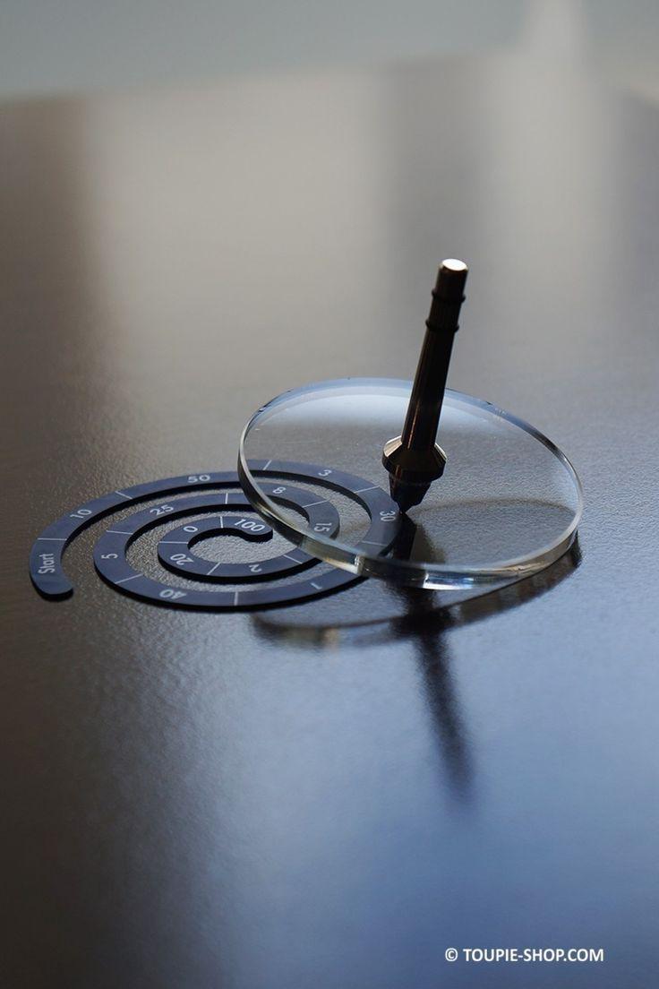 Plexi Original Toupie Métal Magnétique Jeux avec Spirale Toupie Shop Magasin Jouets Metal Toupies Achat Cadeau Original Adulte