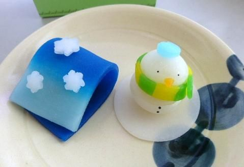 Japanese Sweets, winter wagashi