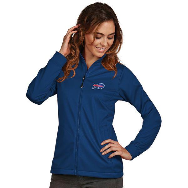 Buffalo Bills Women's Antigua Full-Zip Golf Jacket - Royal - $94.99