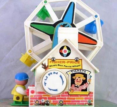 Pop Circus: A Boy's Toy Joy: The Fisher-Price Musical Ferris Wheel