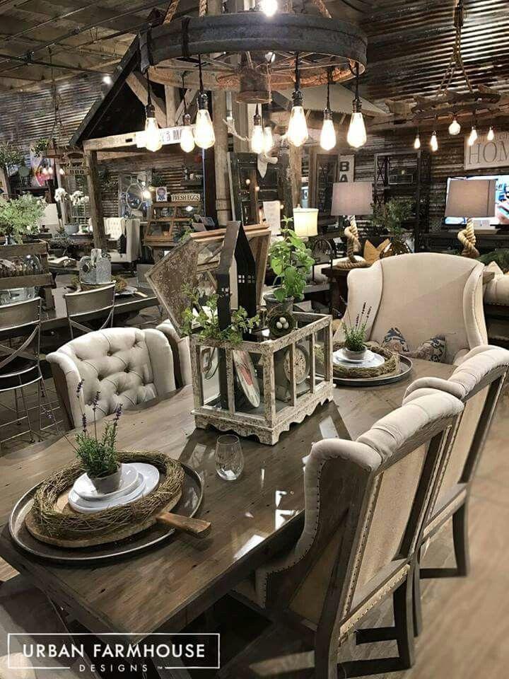 Urban Farmhouse Decor, Urban Farmhouse Dining Room