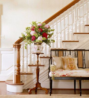 Great newel post and spindles.