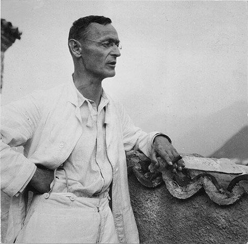 """Hermann Hesse, Casa Camuzzi, Montagnola: """"Wer """"nicht in die Welt paßt"""", der ist immer nahe daran, sich selber zu finden."""""""