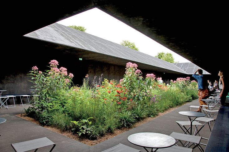 URBAN OASIS   Peter Zumthor and Piet Oudolf's Zen-like 2011 Serpentine Gallery Pavilion